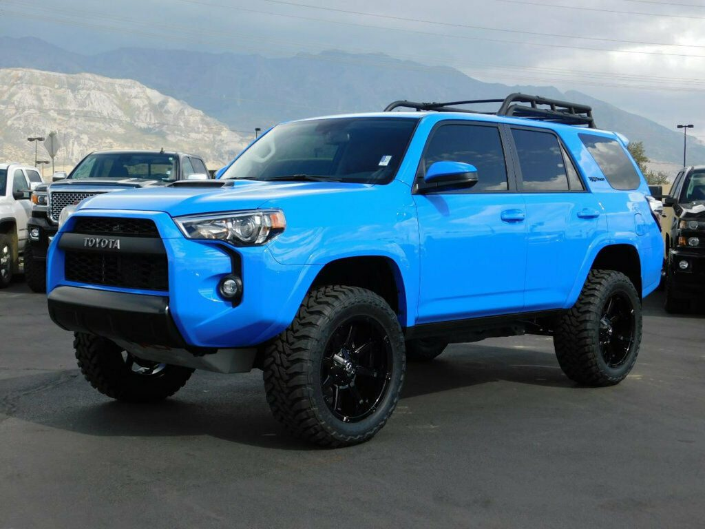 Used 2019 Toyota 4runner Trd Pro Lifted 4runner Trd Pro 4x4 V6 Custom New Wheels Tires Leather Nav Sunroof 2020 Is In Stock And For Sale 24carshop Com