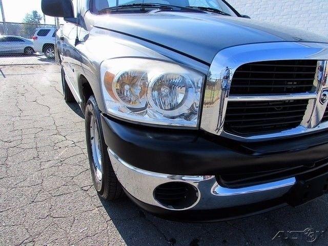 Honda Pilot Gas Mileage >> Great 2007 Dodge Ram 1500 ST Standard Cab Pickup 2-Door 07