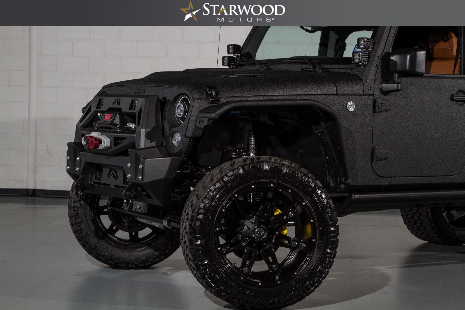 Amazing 2017 Jeep Wrangler Unlimited Bandit Conversion ...