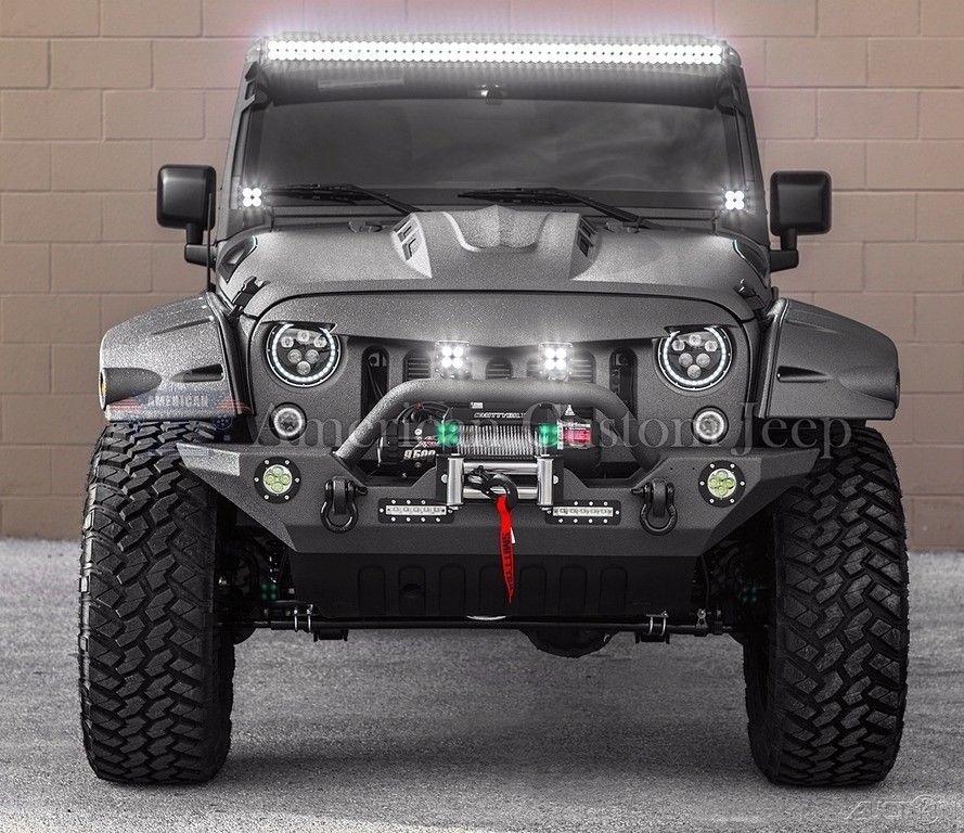 Great 2017 Jeep Wrangler Custom Unlimited Sport Utility 4