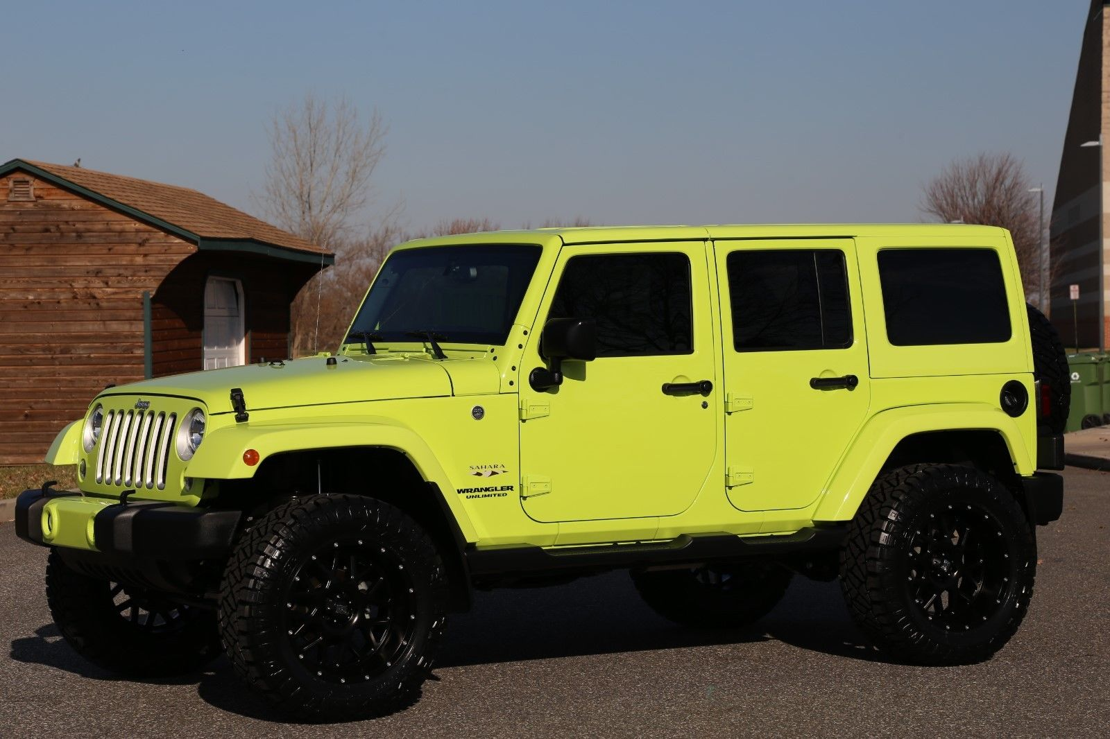 awesome  jeep wrangler unlimited sahara  jeep wrangler unlimited hyper green  miles
