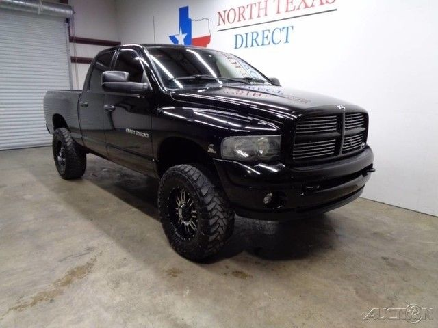 7531623ee4f31 Great 2003 Dodge Ram 2500 SLT Laramie 4×4 5.9 Cummins Diesel Leather Black  W 2003 SLT Laramie 4×4 5.9 Cummins Diesel Leather Black W Used Turbo 5.9L  I6 24V ...