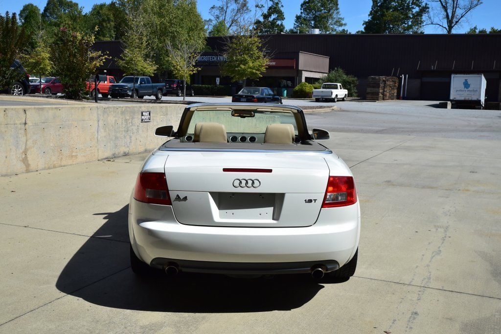 Amazing 2006 Audi A4 Cabriolet Convertible 2 Door 18L White With Tan Dealer Serviced 2017 2018