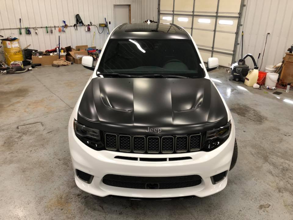 2018 Jeep Grand Cherokee TrackHawk 2018 JEEP CHEROKEE ...
