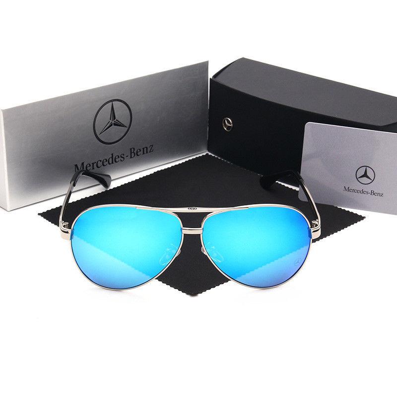 e72a71d557 Great Luxury Brand Designer Mercedes-Benz Men s Polarized Driving Sunglasses  2017 2018