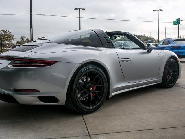 Used Dodge Charger For Sale >> Awesome 2018 Porsche 911 Targa 4 GTS 2018 Porsche 911 Targa 4 GTS 1,696 Miles GT Silver Metallic ...
