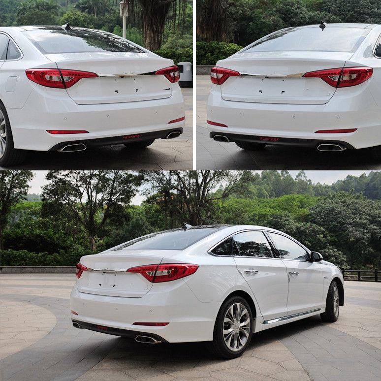 Hyundai Sonata Trunk: 2017 Hyundai Sonata Chrome Rear Trunk