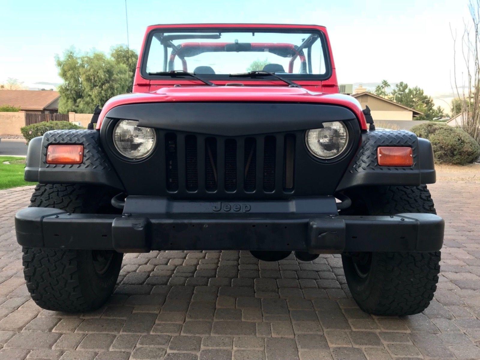 Amazing 1998 Jeep Wrangler Sport Sport Utility 2 Door 1998 Jeep Wrangler  Sport 4.0L 4X4 Soft Top Auto Clean Title **No Reserve!!** 2017/2018