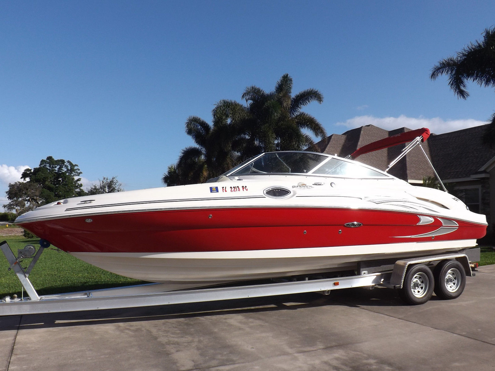 Great 2005 Sea Ray 270 SunDeck Mercury SUPER CLEAN chaparral