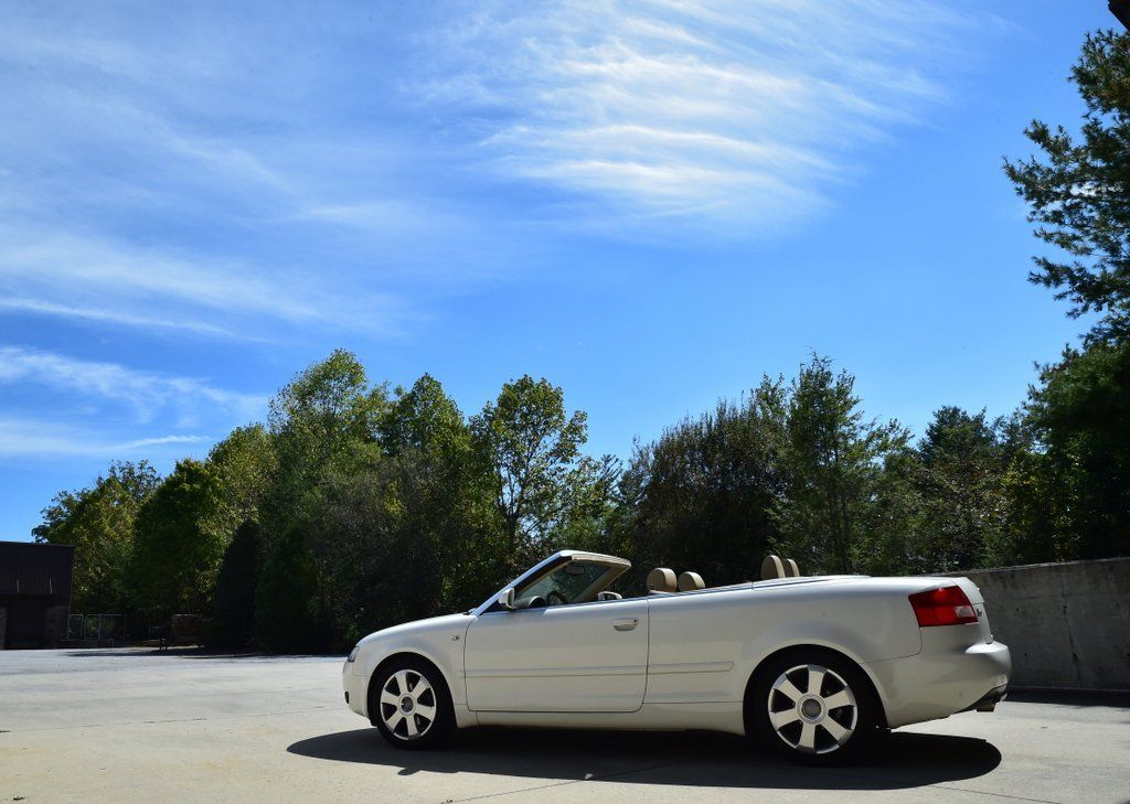 Amazing 2006 Audi A4 Cabriolet Convertible 2 Door 1 8l White With Tan Dealer Serviced 2017 2018