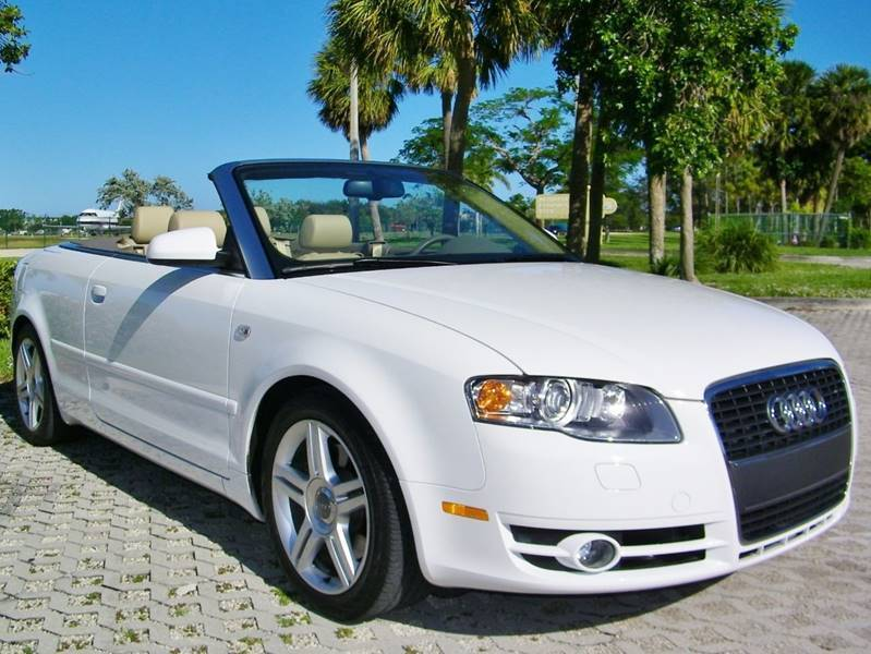 Amazing 2007 Audi A4 20t Convertible Only 20k Miles 1 Owner