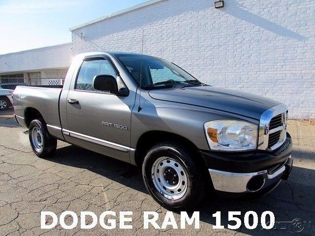 great 2007 dodge ram 1500 st standard cab pickup 2 door 07 dodge ram 1500 st used pickup truck. Black Bedroom Furniture Sets. Home Design Ideas