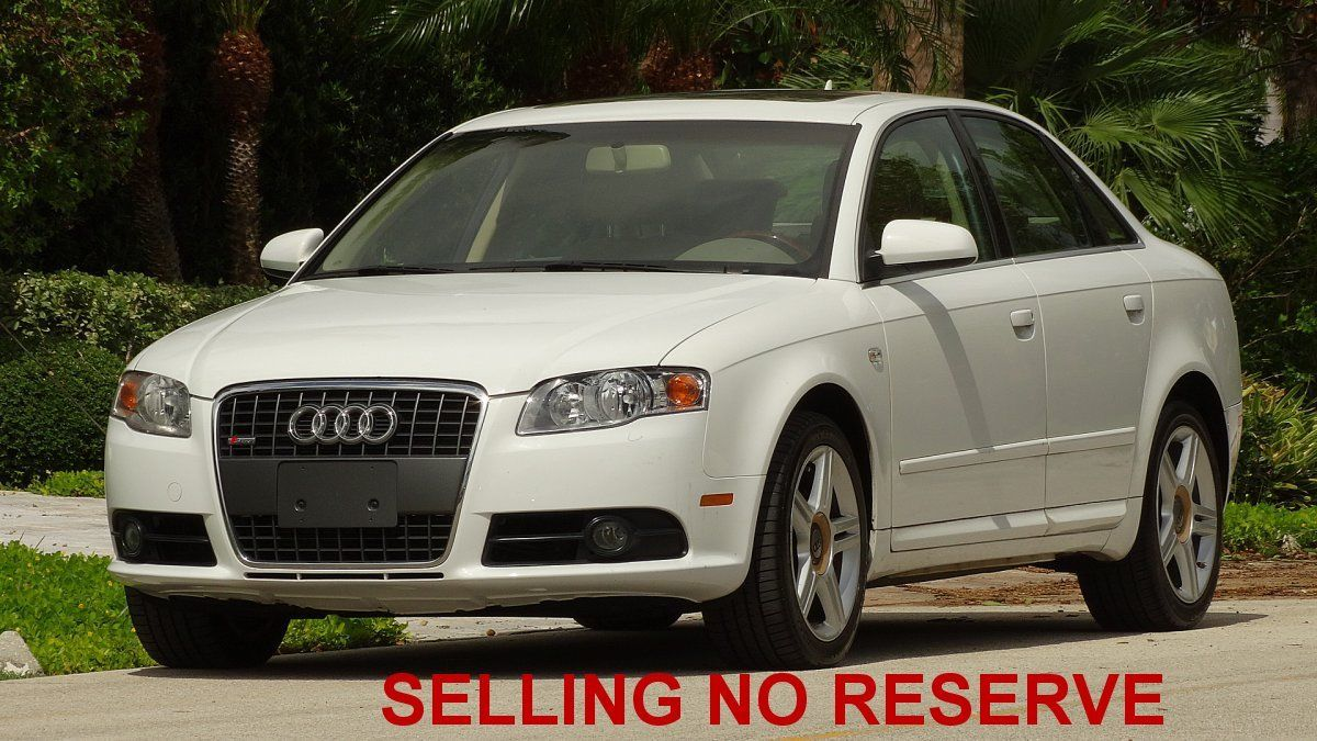 Awesome 2008 Audi A4 S Line One Owner 2 0 Turbo Engine Excellent In An Out No Reserve 2017 2018