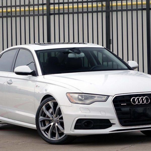 Awesome 2012 Audi A6 3.0T Prestige * QUATTRO * 2012 White