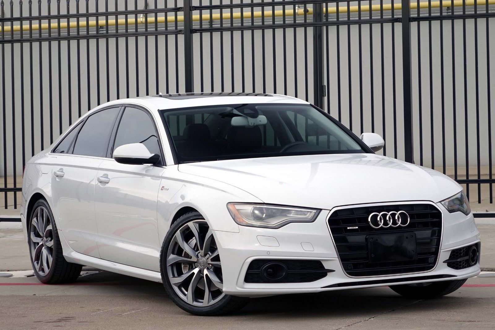 awesome 2012 audi a6 3 0t prestige quattro 2012 white a6 drivers assistance pkg blind. Black Bedroom Furniture Sets. Home Design Ideas