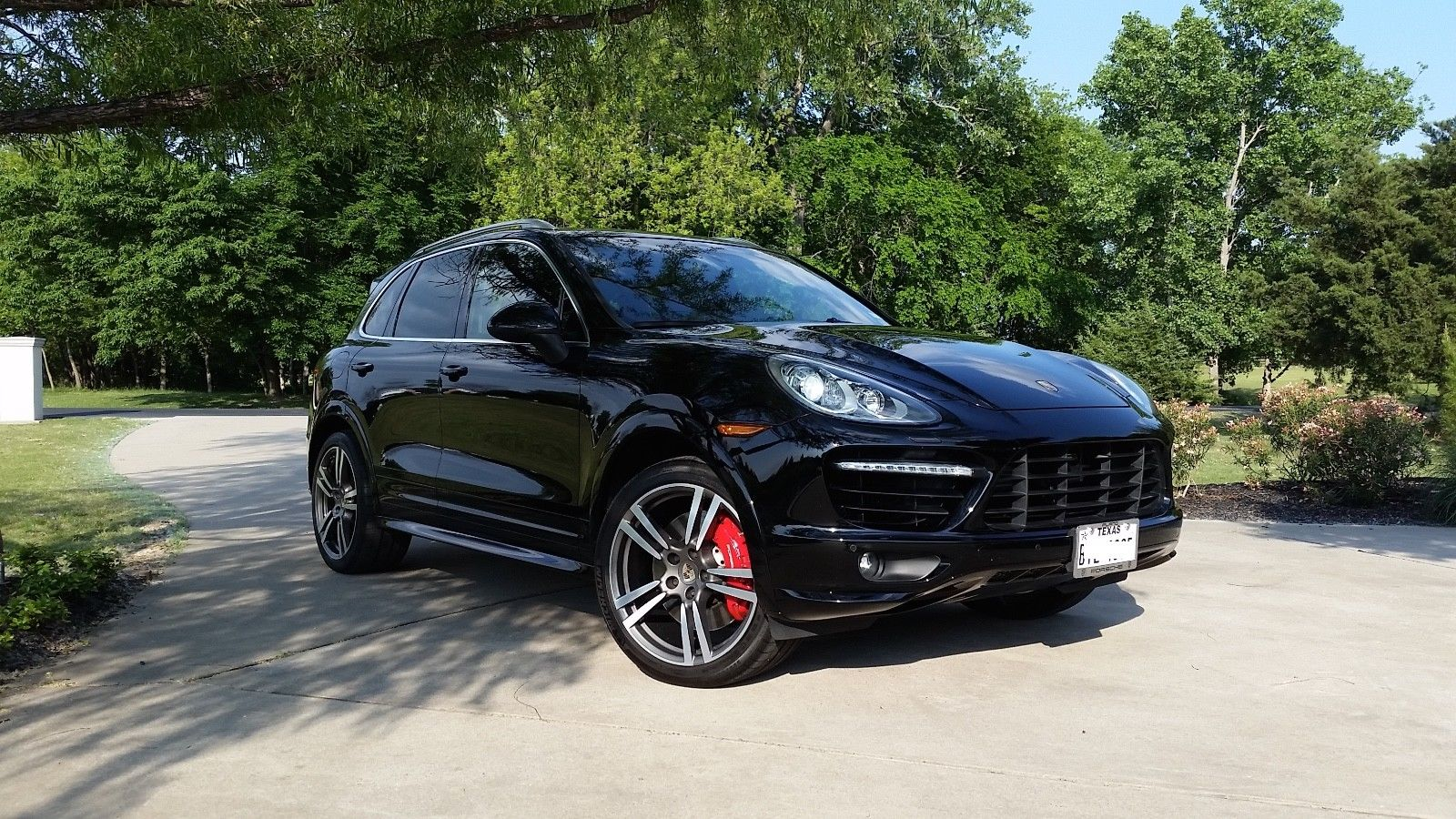 2012 Porsche Cayenne Turbo 2012 Porsche Cayenne Twin Turbo 81 875 Miles Black Suv 4 8l 8cyl 2017 2018 Is In Stock And For Sale 24carshop Com