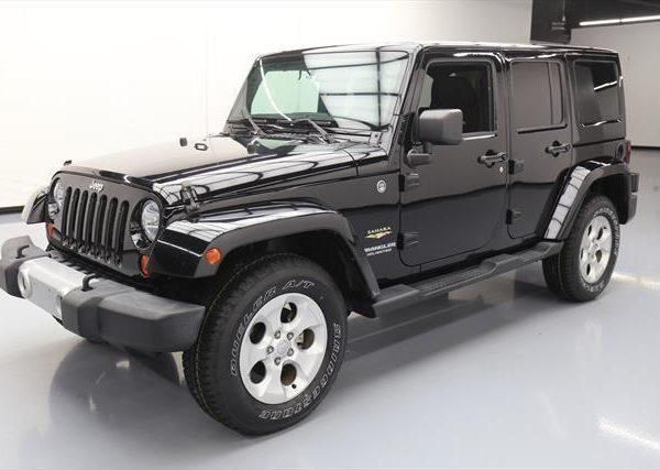 Amazing 2013 Jeep Wrangler Unlimited Sahara Sport Utility 4door