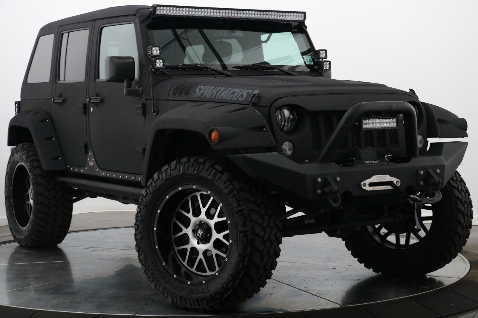 awesome 2015 jeep wrangler unlimited jeep wrangler unlimited sahara blacked out spartacus. Black Bedroom Furniture Sets. Home Design Ideas