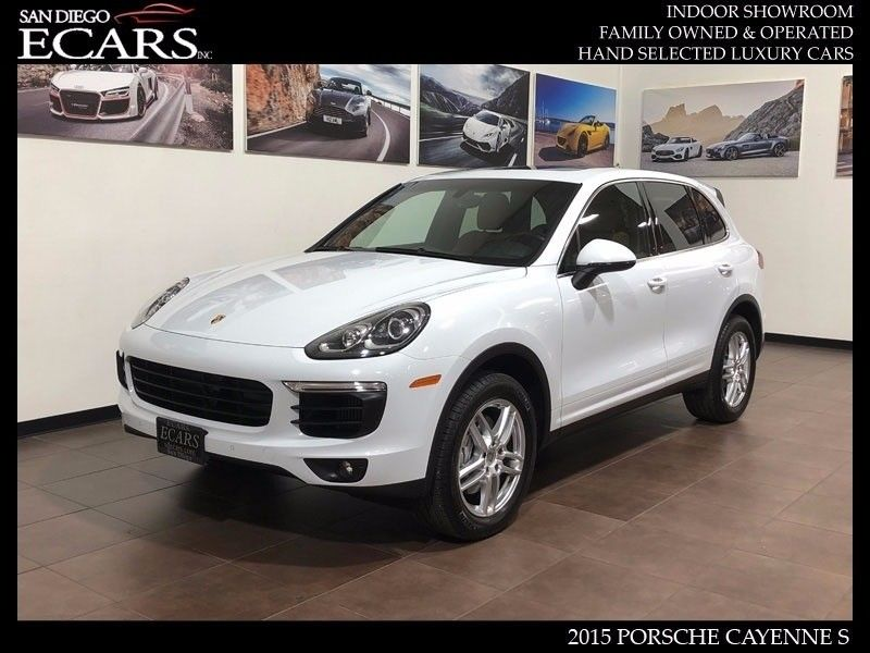 2015 Porsche Cayenne S 2015 Awd S Bose Ventilated Seats Two Tone Leather Interior 82k Msrp 2017 2018 24carshop Com