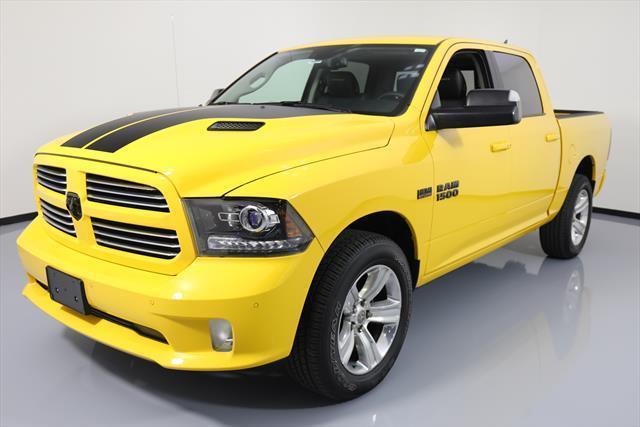 Awesome 2016 Dodge Ram 1500 Sport Crew Cab Pickup 4 Door 4x4 Hemi Sunroof Nav 13k 318188 Texas Direct 2017 2018