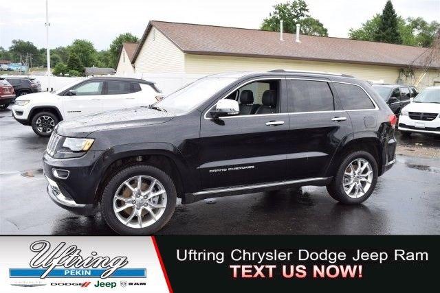 Amazing 2016 Jeep Grand Cherokee Summit 12764 Miles Black Sport Utility Intercooled Turb 2017 2018