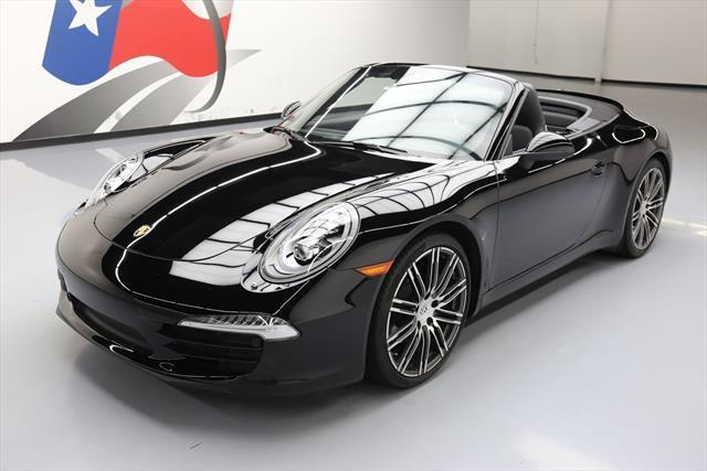 Awesome 2016 Porsche 911 Carrera 4 Convertible 2 Door Black Edition 4k 141225 Texas Direct Auto 2018 2019
