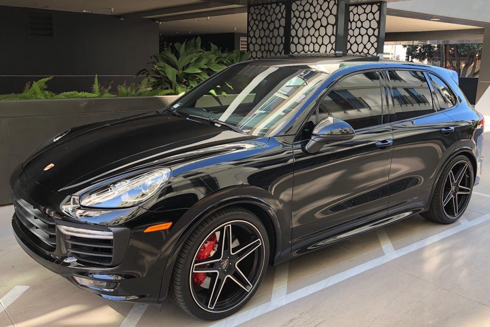 Awesome 2016 Porsche Cayenne Gts 2016 Porsche Cayenne Gts Black Premium Plus Package 22 Wheels
