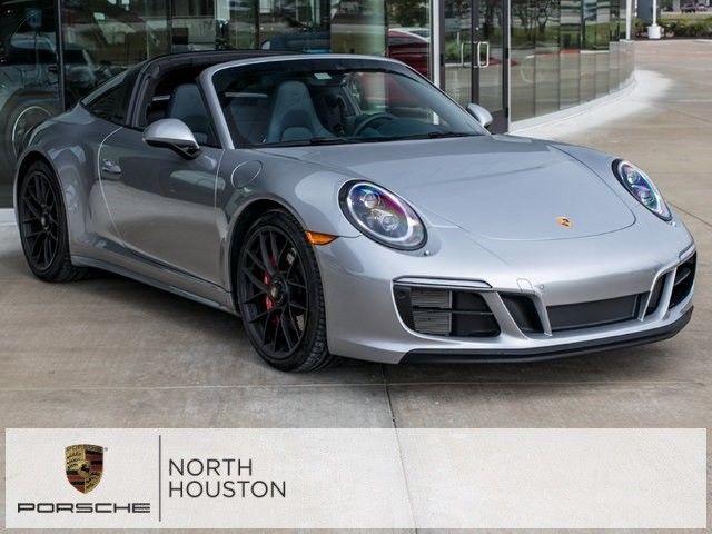 Used 2018 Porsche 911 Targa 4 Gts 2018 Porsche 911 Targa 4 Gts 1 696 Miles Gt Silver Metallic 7 Speed Manual 2018 2019 24carshop Com