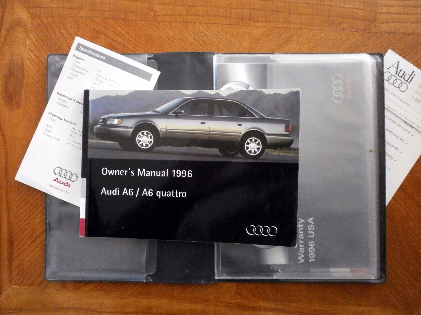 Great Audi A6 Quattro 1996 Owner S Manual 2017 2018