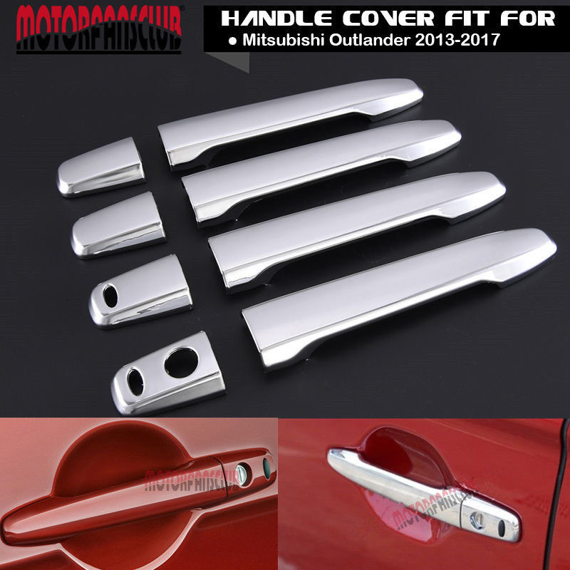 Great Chrome Door Handle Cover For Mitsubishi Outlander 2013
