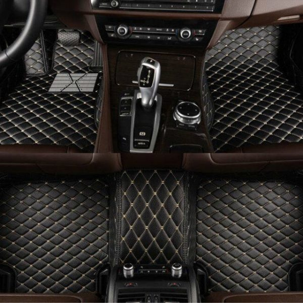 Awesome For Audi Q7 4-seat 2007-2015 Leather Car Floor