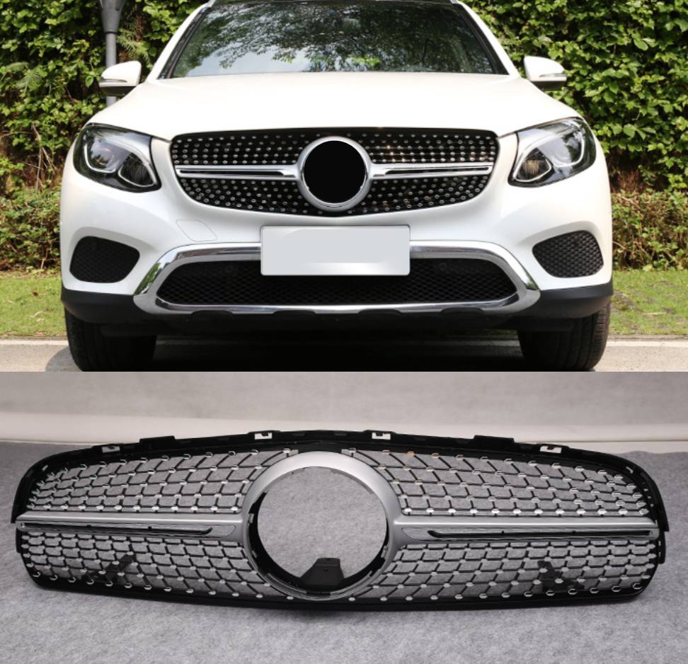 Great For Mercedes-Benz GLC 300 2015-2017 Front Grille