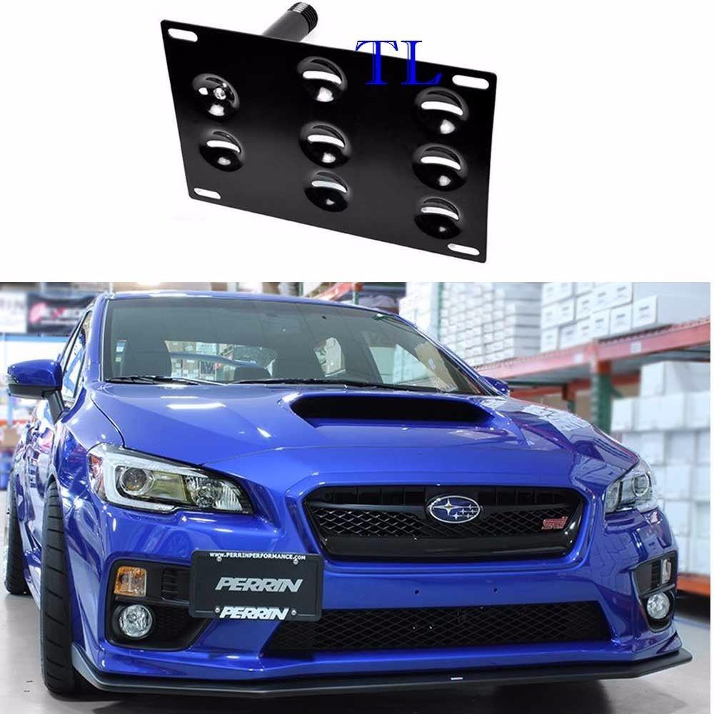 Awesome Front Bumper Tow Hook License Plate Bracket For Subaru WRX STI  Forester Impreza 2017/2018