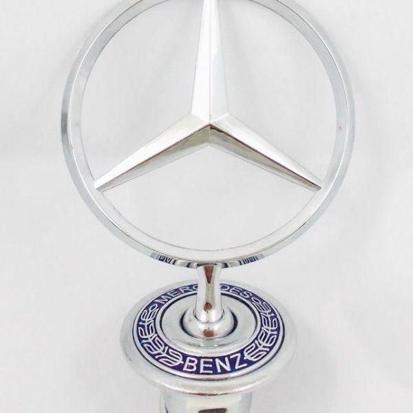 Mercedes Benz  Standing Star Hood Mount Emblem Ornament Badge