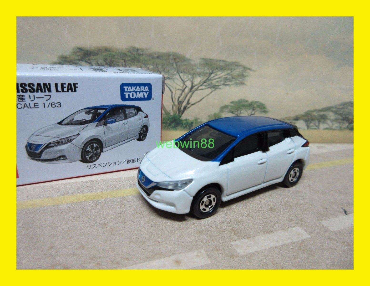 Awesome Oct 2017 93 Nissan Leaf Tomica Takara Tomy 2018 2019 24carshop