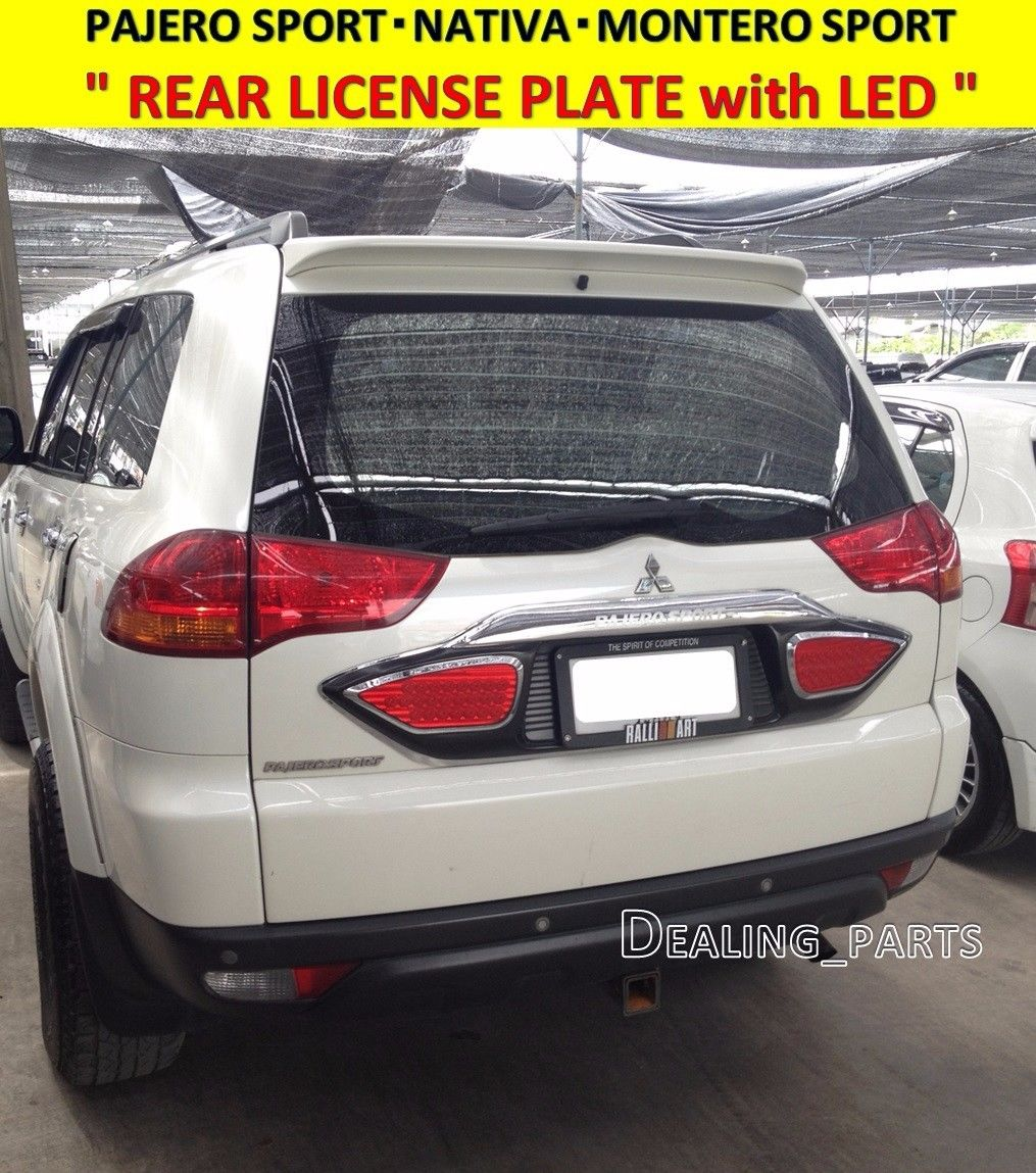 Amazing REAR LICENSE PLATE FRAME WITH BREAK LIGHT FOR MITSUBISHI ...