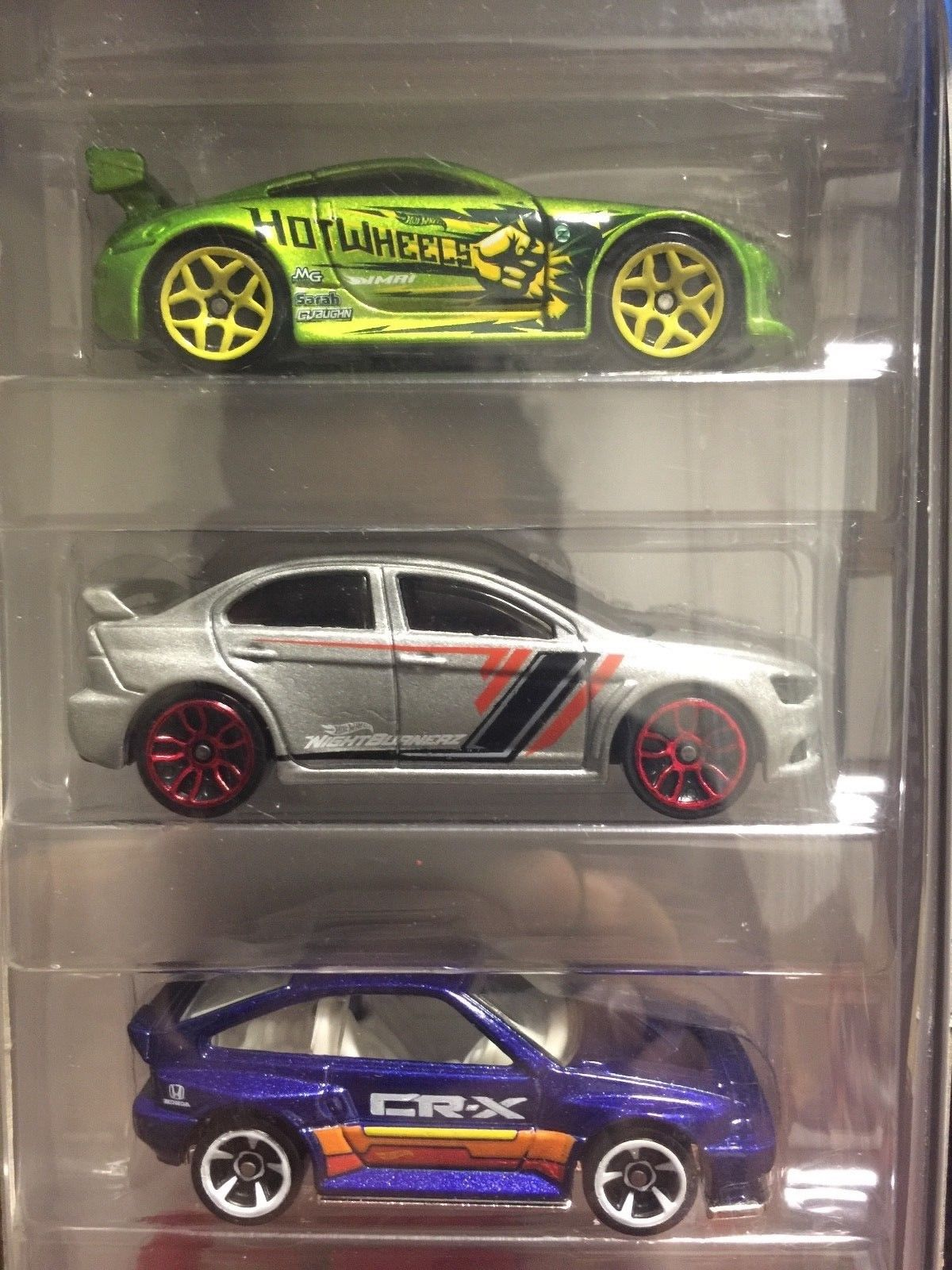 Awesome HoT Wheels 2018 NIGHTBURNERZ 5 Pack Nissan 350z ...