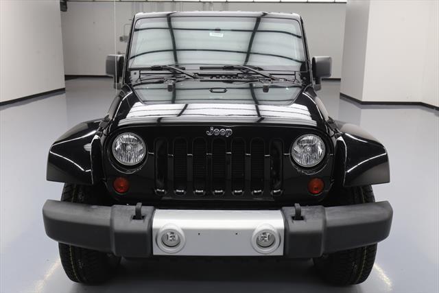 Awesome 2013 Jeep Wrangler Unlimited Sahara Sport Utility