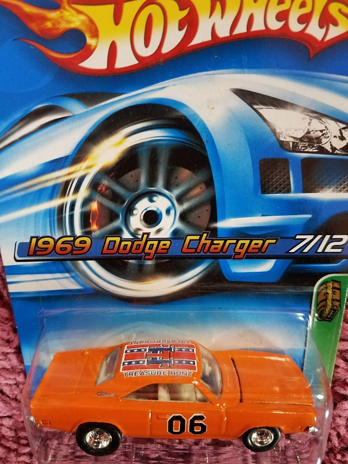 Amazing Hot Wheels 2006 Treasure Hunt 1969 Dodge Charger