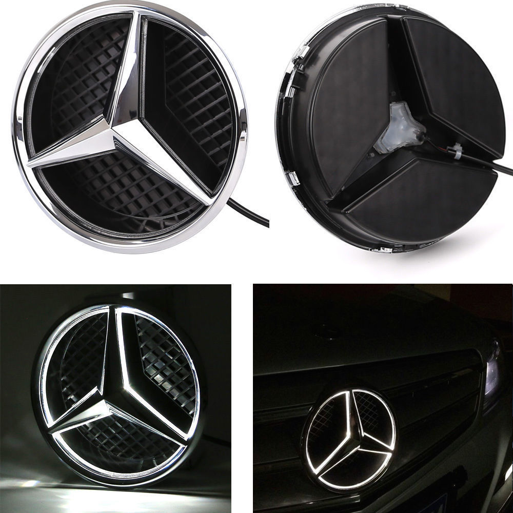 Awesome Illuminated LED Light Sport Front Grille Star