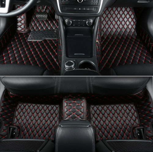 Awesome For Audi Q7 5-seat 2007-2015 Leather Car Floor