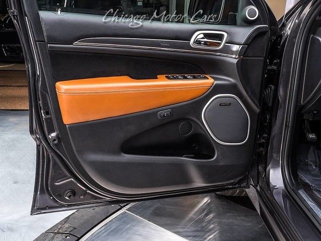 Cherokee Vs Grand Cherokee >> Awesome 2016 Jeep Grand Cherokee SRT 2016 Jeep Grand Cherokee SRT Granite Crystal Metallic ...