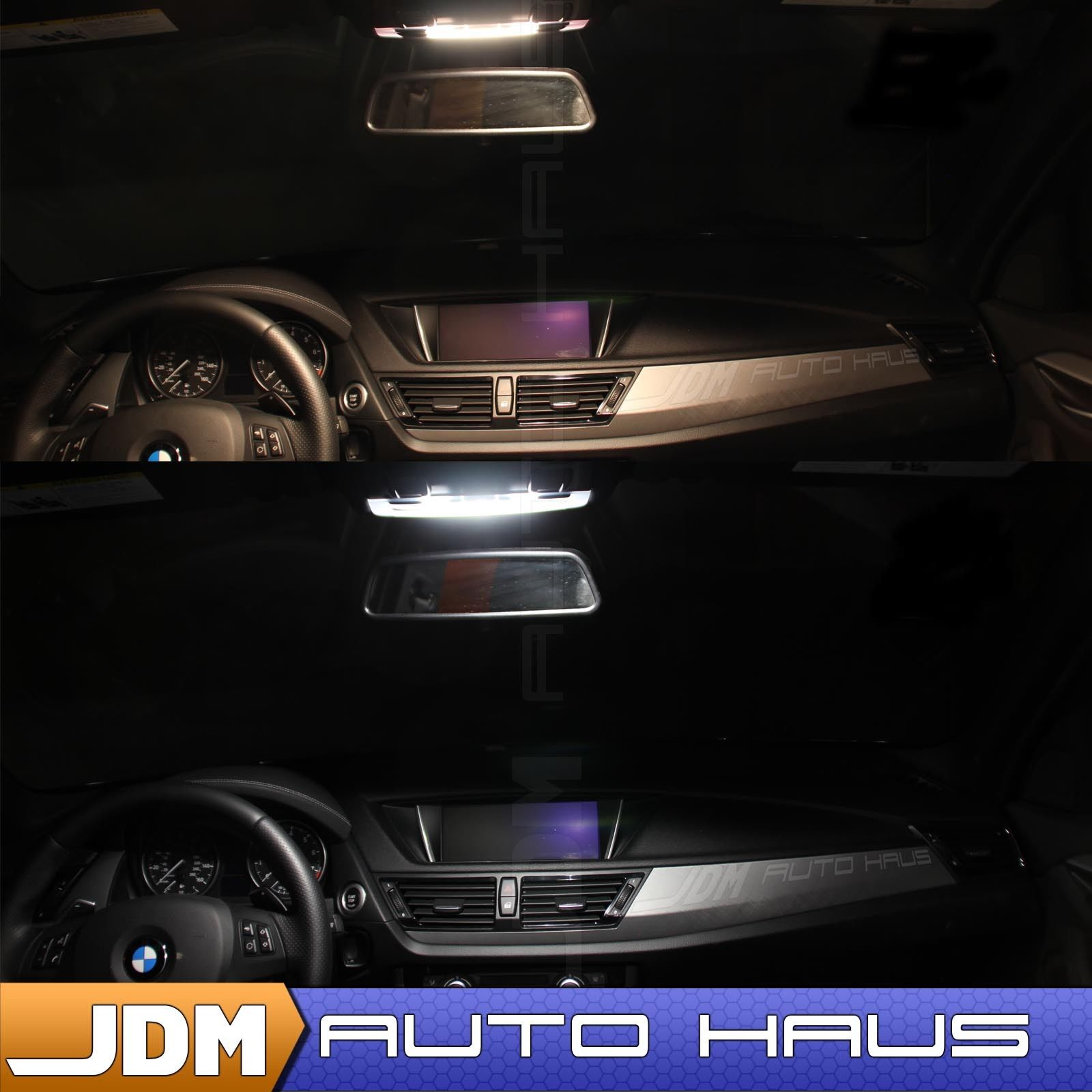 Audi A4 2015 Led Lights: Awesome 18x White Interior LED Lights Package Kit For 2009