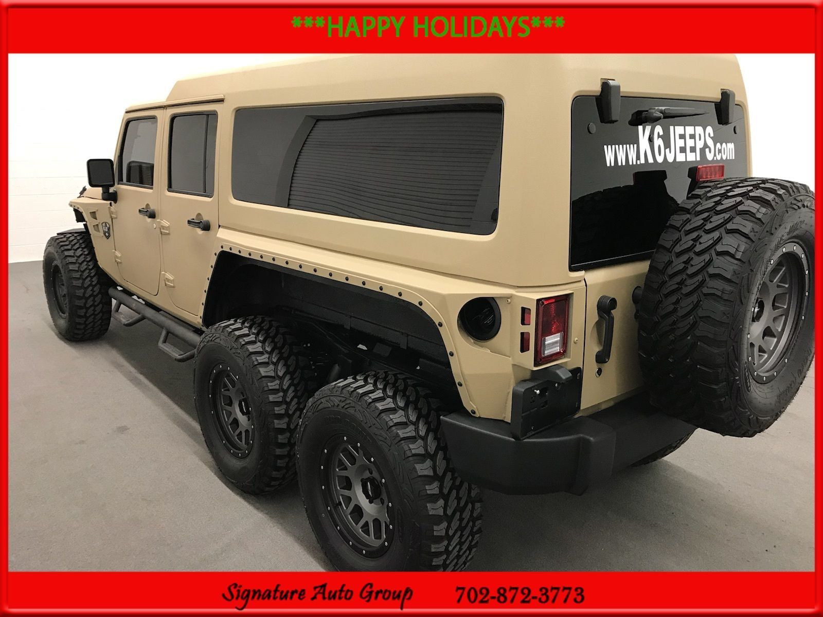 2016 Hyundai Elantra Value Edition >> Used 2017 Jeep Wrangler 6×6 Jeep 6 Wheel Drive! Used – Rare TVs Kev 2018-2019   24CarShop.com