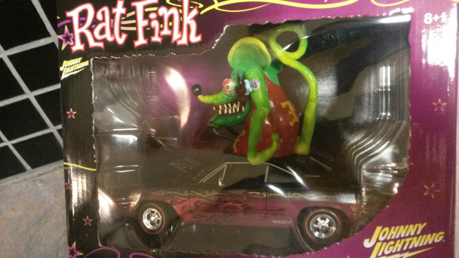 2017 Dodge Charger >> Used Matco Tools Ed Roth Rat Fink 1:24 Diecast 1969 Dodge ...