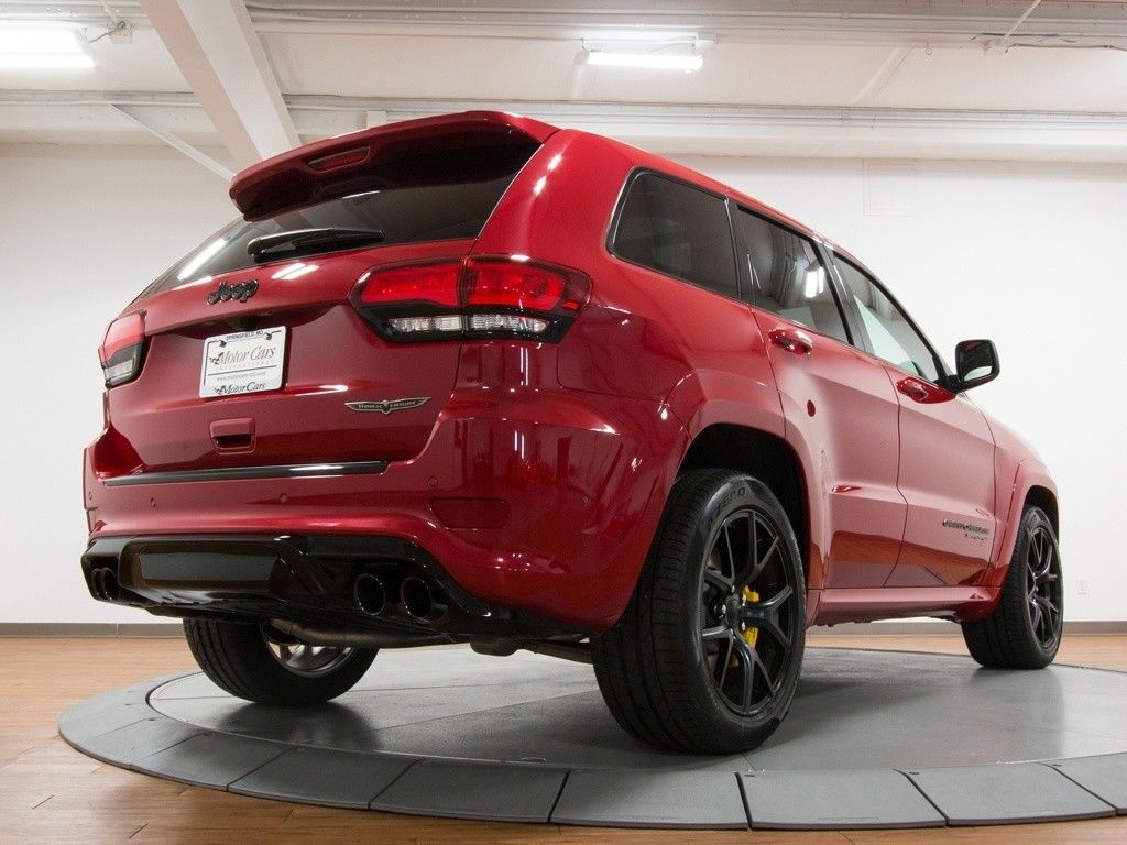 Great 2018 Jeep Grand Cherokee Trackhawk 2018 Jeep Grand Cherokee Trackhawk 10 Miles Redline ...