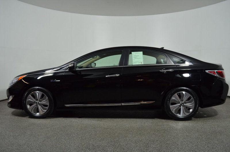 Hyundai Sonata Limited 2015 Black