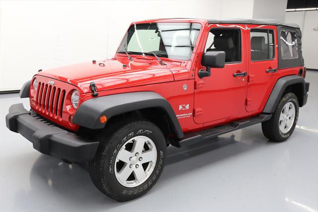 Great 2008 Jeep Wrangler Unlimited X Sport Utility 4 Door Unltd Soft Top 4x4 6 Sd 41k Mi 568447 Texas Direct Auto 2017 2018