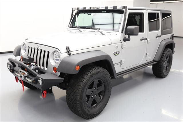 Amazing 2012 Jeep Wrangler Unlimited Rubicon Sport Utility 4