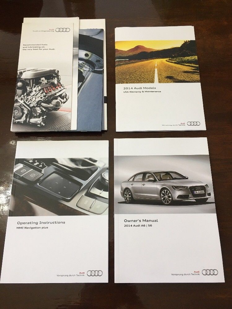 Great 2017 Audi A6 Owners Manual Set 2018
